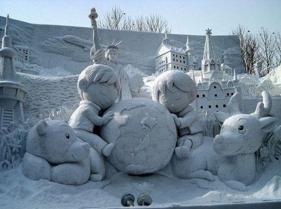 Из снега поделки своими руками