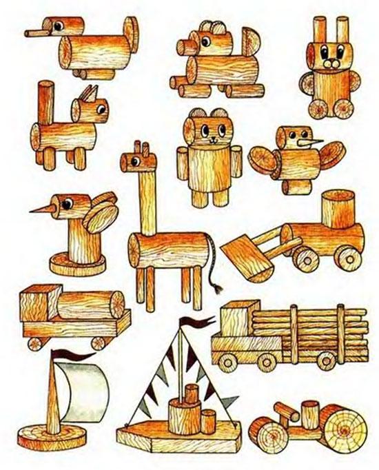 Интересные поделки из дерева чертежи