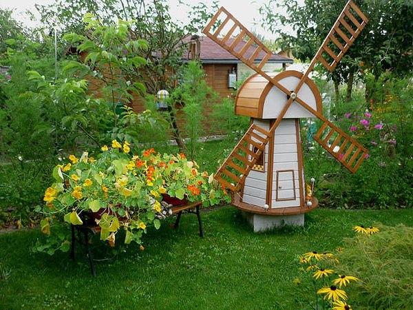 Сад огород своими руками из дерева