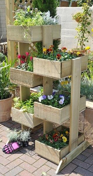 Идеи для огорода своими руками фото