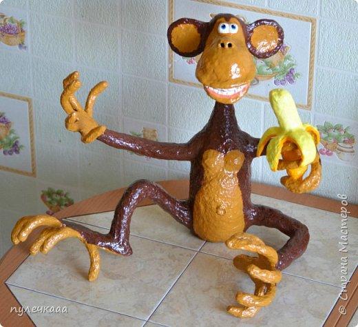 Поделки своим руками обезьяна 45