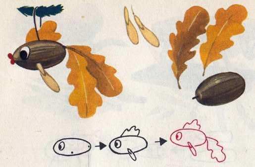 Какие поделки можно сделать для ребенка осенью