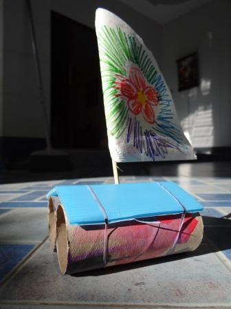 Поделки из цветной бумаги - 7 Ноября 2012 - Своими руками, детские, поделки, фото, дача, дом, сад