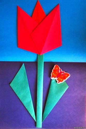 Поделки 4 класс как сделать тюльпан - GumerovOleg.ru